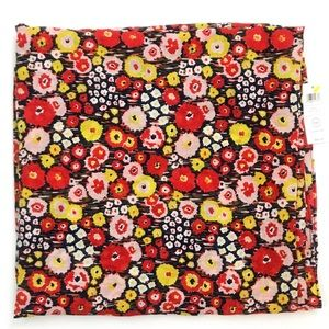 NWT Kate Spade Saturday Busy Floral Scarf